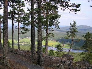 Utsikt från Aavasaksa