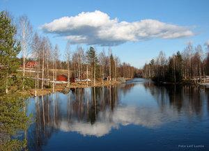 Vårbild Kukasjärvi