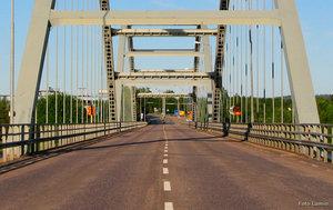 Bron mellan Övertorneå och Finland