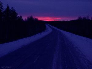 Blå timmen Kalixvägen