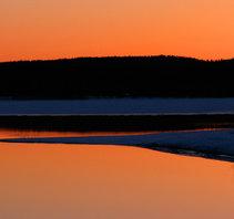 Skymning Armasjärvi