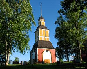 Klocktornet Hietaniemi kyrka
