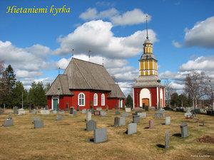 Vårbild Hietaniemi kyrka