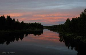 Nattfoto Tornedalen Armasjoki
