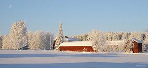 Vintervy Tornedalen Hedenäset