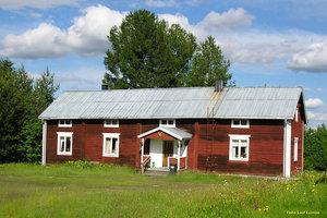 Äldre hus, typ norrbottensgård, Hedenäset