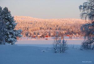 Armasjärvi i kvällssol
