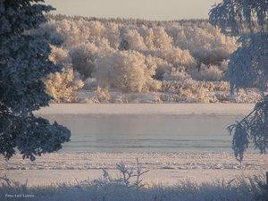 Vintervy Torneälv Hedenäset