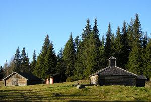 Hanhivittikko fäbod Tornedalen